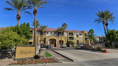 PHOENIX, AZ - FEB 5: Belaflora Condominiums - 5302 East Van Buren St. Phoenix property. (Photo by Jennifer Stewart)