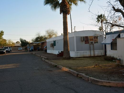 as land values rise in phoenix area mobile home parks disappear rh orionprop com Used Mobile Homes Phoenix Area Manufactured Homes Phoenix AZ